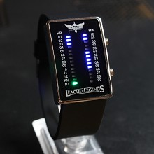 League of legends black LED watch