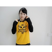 One Piece Law long sleeve hoodie