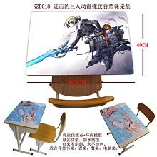 Attack on Titan Rubber table mat KZD018