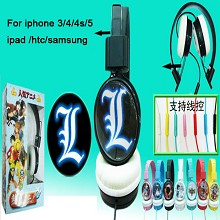 Death note headphone