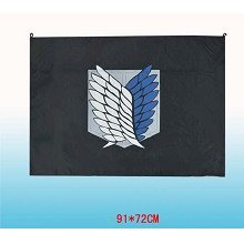 Attack on Titan cos flag