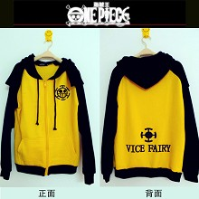 One Piece Law winter hoodie