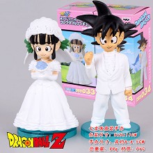 Dragon Ball anime figures(2pcs a set)