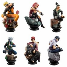 MegaHouse MH Naruto anime figures(6pcs a set)