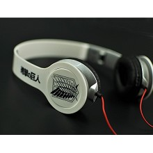 Attack on Titan anime headphone