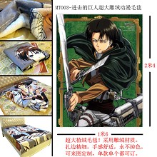 Attack on Titan blanket MT003