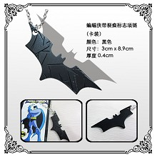 Batman black necklace
