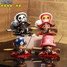 One Piece chopper figures set(4pcs a set)