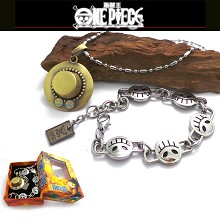 One piece ace bracelet+necklace