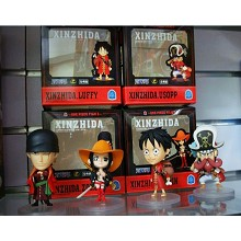 One Piece figures set(4pcs a set)