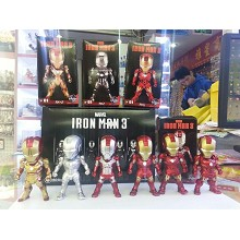 Iron Man figures set(6pcs a set)