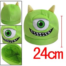 Monsters University plush hat