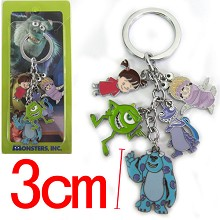 Monsters University key chain