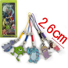 Monsters University phone straps