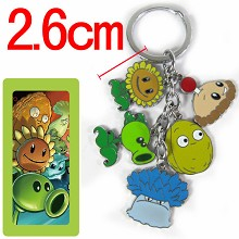 Plants vs Zombies key chain