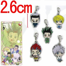 hunter x hunter key chains