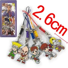 Street Fighter phone straps