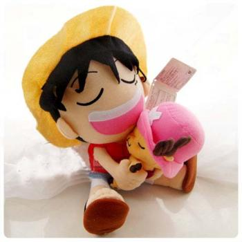 One piece plush doll