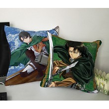 Attack on Titan two-sided pillow(35X35)BZ009