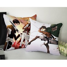 Attack on Titan two-sided pillow(35X35)BZ011
