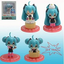 Hatsune Miku figures(4pcs a set)