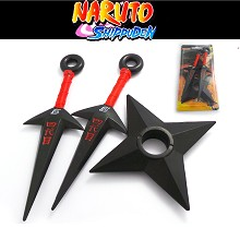 Naruto cos weapons set