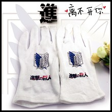 Attack on Titan cotton gloves