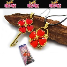Shugo Chara lovers necklaces(red)