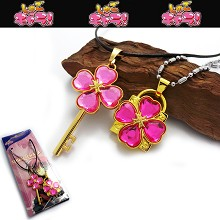 Shugo Chara lovers necklaces(pink)