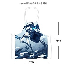 Black rock shooter waterproof apron WQ011