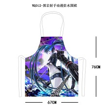 Black rock shooter waterproof apron WQ012