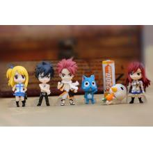 Fairy Tail figures(6pcs a set)