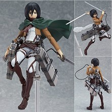 Attack on Titan Mikasa figure Figma 203