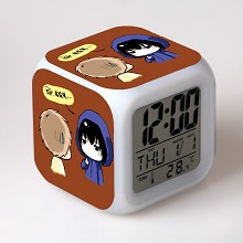 Tomb Notes multi-color clock(no battery)