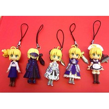 Fate stay night figures set(4pcs a set)