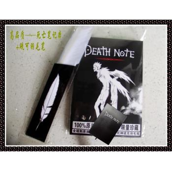 Death note anime notebook set(notebook+pen)