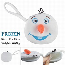 Frozen plush purse