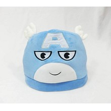 Captain America plush hat