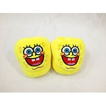 7inches Spongebob plush slippers/shoes