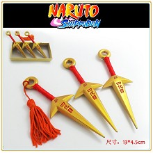 Naruto golden weapons(3pcs a set)