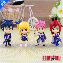 Fairy Tail figures set(4pcs a set)