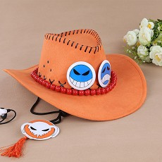 One Piece ACE cos hat
