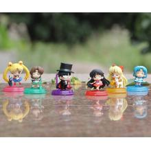 Sailor Moon figures set(6pcs a set)