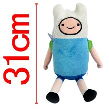Adventure Time Finn plush doll 31cm