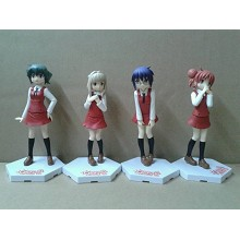 The anime sexy girl figures(4pcs a set)