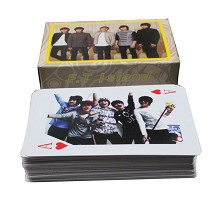 Star F.T Island poker/playing cards