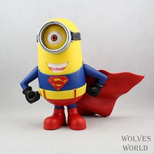 Despicable Me cos super man figure