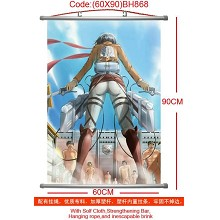 Attack on Titan wallscroll(60×90CM)BH868