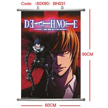 Death note wall scroll(60×90CM)BH031