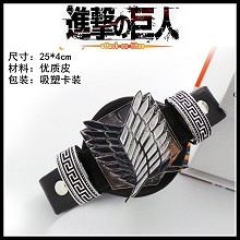 Attack on Titan bracelet/wrist band